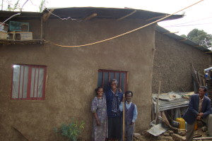 Mr dawit and wife's house after repairs