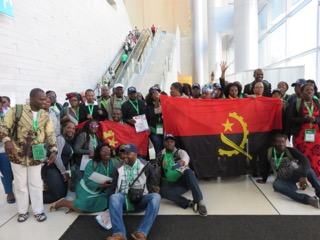 Angolan community gather for the World Meeting of Families
